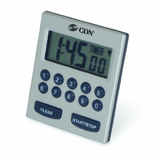 CDN TM30 Direct Entry 2-Alarm Timer-Alarm Sounds or Vibrates - 1 count ()