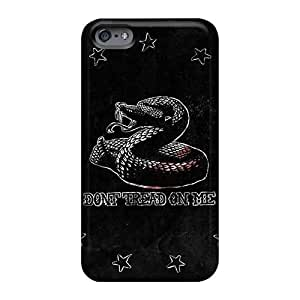 Shockproof Cell-phone Hard Cover For Apple Iphone 6 With Unique Design HD Metallica Image KennethKaczmarek