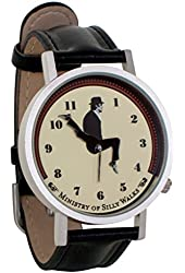 Monty Python Ministry of Silly Walks Sketch Unisex Analog Water Resistant Novelty Gift Watch