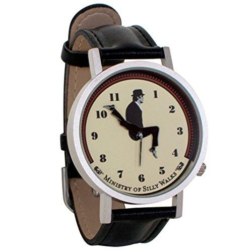 Monty-Python-Ministry-of-Silly-Walks-Sketch-Unisex-Analog-Novelty-Gift-Watch