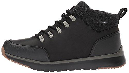 Schwarz Boots Ugg Olivert Leather 1017275 Hn6zT