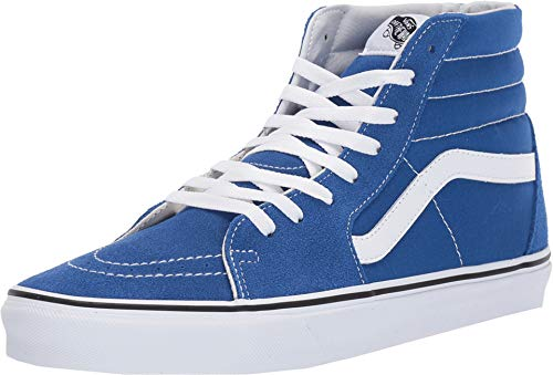 Vans Unisex SK8 Hi (Vans Men Shoes Blue)
