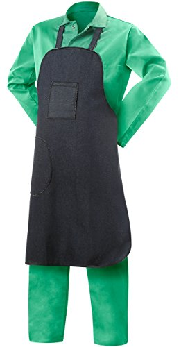 Steiner 02935 9-Ounce Cotton Denim Shop Apron, 28-Inch W by 35-Inch L, Blue (3-Pack) (Steiner Apron)
