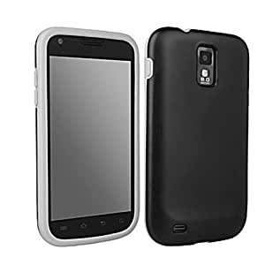 Galaxy S II (SGH-T989) D3O Dual Impact Protective Cover Case - Black/Gray