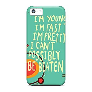 Hot New Im Invincible Case Cover For Iphone 5c With Perfect Design