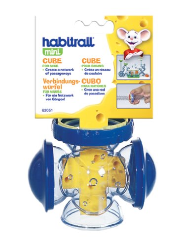 Habitrail Mini Cube, with 3 Windows and 1 Lock Connector