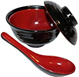 Best Bowl With Soup Spoons - Japanese Rice / Soup Bowl Set with Lid Review