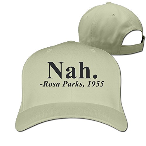 [NAH ROSA PARKS QUOTE Mens Nice Trucker Hats Style Hat Golf Hat] (Funny Hats For Sale)