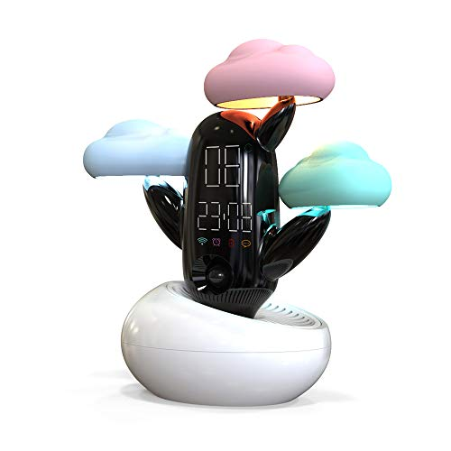 Multifunction Alarm Clock Smart Night Light Weather Forecast Desk - Lamp Forecast Table