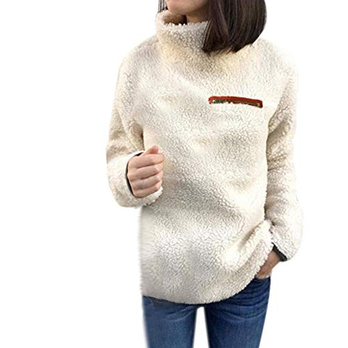 Womens Jacket Sale,KIKOY Winter Warm Wool Hooded Zipper Cotton Coats Outwear