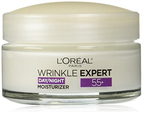 - L'Oreal Paris Skincare Wrinkle Expert 55+ Anti-Aging Face Moisturizer with Calcium Non-Greasy Suitable for Sensitive Skin 1.7 fl. oz.