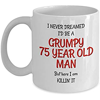 75th Birthday Mug For Men