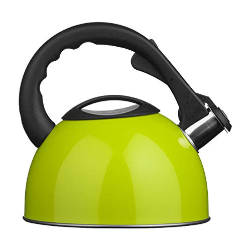 lime green electric kettle - 6