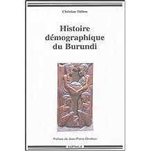 Histoire Demographique du Burundi