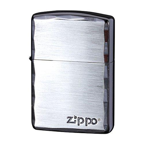 zippo ジッポーライター オイルライター アーマー シンプルロゴ SBN ブラックニッケル B01M0NKQQX