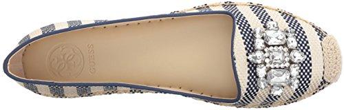 GUESS Womens Gill Ballet Flat Blue K23G2NFf