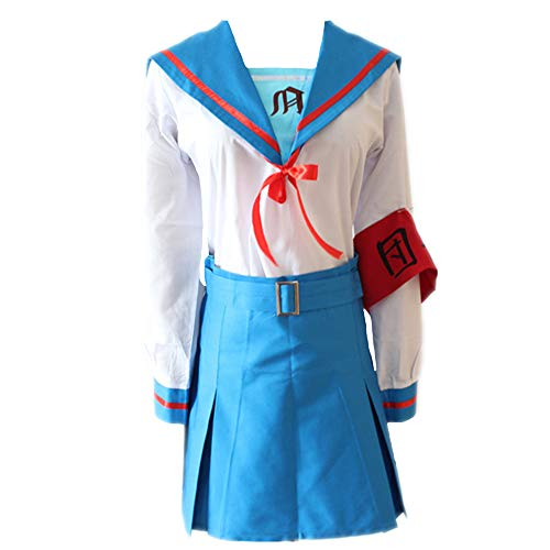 Anime Suzumiya Haruhi Series Cosplay Costumes Haruhi Suzumiya School Uniforms Halloween Party