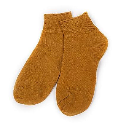 Calcetines femeninos del color del caramelo tubo corto del algodón de la ayuda baja femenina Calcetines