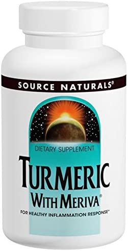 Source Naturals Turmeric with Meriva 500mg – 120 Capsules 3 Pack