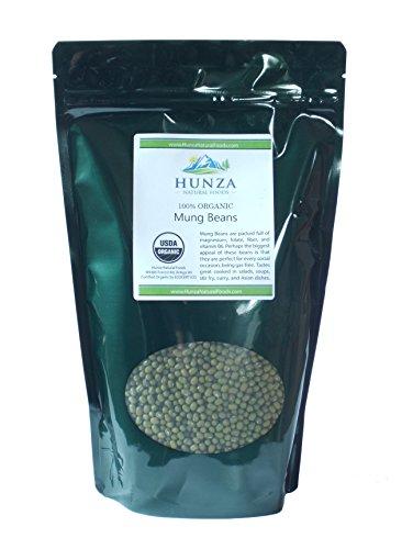 (Hunza Organic Mung Beans (2 lbs))