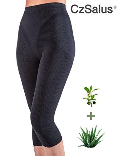 21dff7d585e Slimming anti cellulite Capri leggings Green