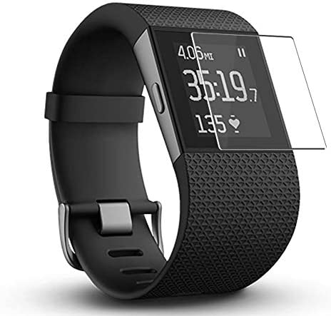 Puccy 4 Pack Screen Protector Film, appropriate with Fitbit Surge TPU Guard ( Not Tempered Glass Protectors )
