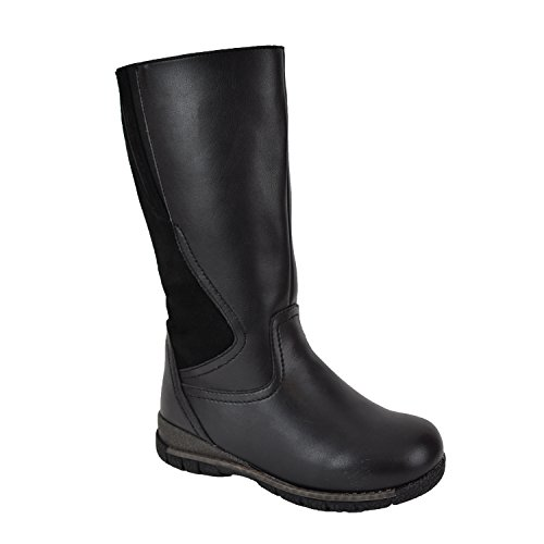 Comfy Moda Women's Winter Boots Waterproof Guranteed 3M Thinsulate Super Warm Comfy - Alberta (10, Black) by Comfy Moda