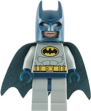LEGO Super Heroes: Batman Con Gris Traje Minifigura: Amazon ...