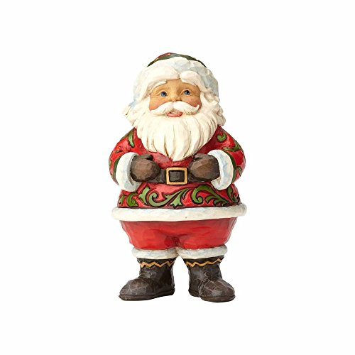 Enesco Jim Shore Heartwood Creek Pint Sized Jolly Santa ()