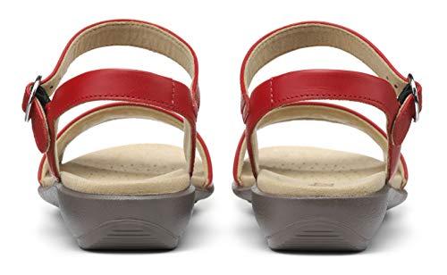 Hotter Women's Tropic Buckle Fastening Smart Casual Sandals