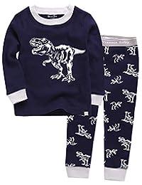 Vaenait Baby Boys Toddler Girls Pajamas 100% Cotton Character Printed 12M-12 Unisex Sleepwear