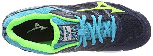 para Blade Mizuno de Dressbluesgreengeckopeacockblue Zapatillas Running Thunder Hombre Multicolor aAgqX