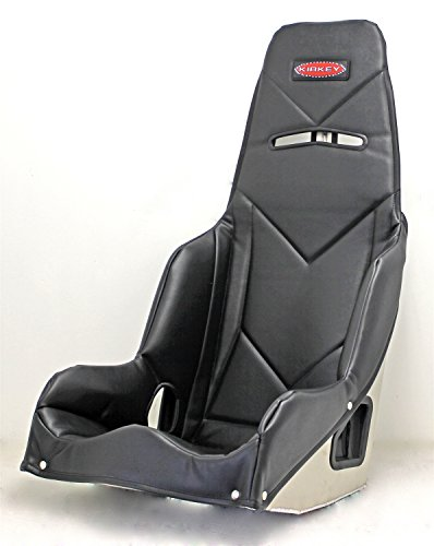Kirkey 5520001 55 Series Pro Street Drag Seat Cover 20 Hip Width Black Vinyl Fab