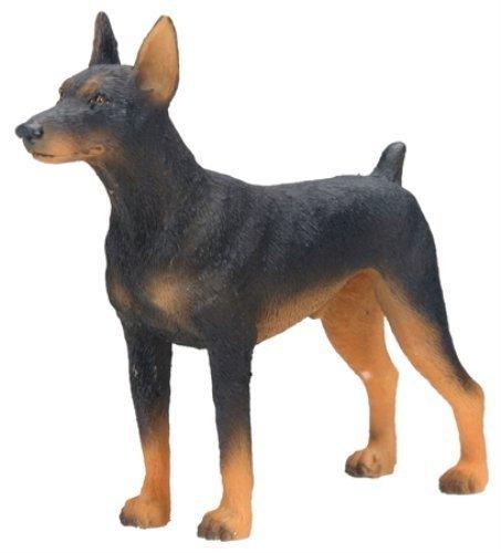 Dog Collectible Figurine (Doberman Dog - Collectible Statue Figurine Figure Sculpture Puppy)
