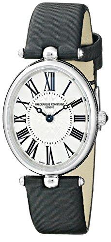 Frederique Constant Women's FC200MPW2V6 Art Deco Analog Display Swiss Quartz Black Watch ()