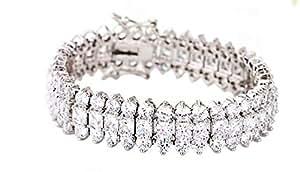Luxurious SWAROVSKI Elements White Gold Plated Bracelet