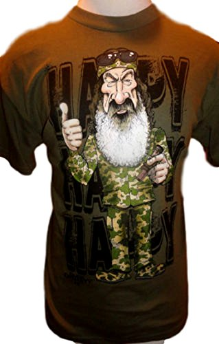 Duck Dynasty I Always Been A Ladies Man Mens' Tee Shirt (MED, Happy Green)