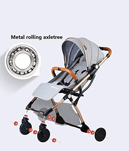 Amazon.com : Mini cochecito de bebé portátil cochecito plegable luz bebé Traje para mentir y Estar en 2018 Nuevo artículo : Baby