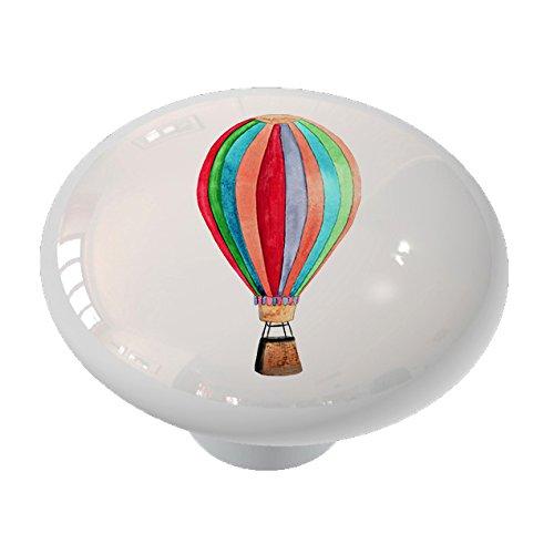Hot Air Balloon Ceramic Drawer -