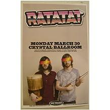 Ratatat Poster Handbill Portland OR