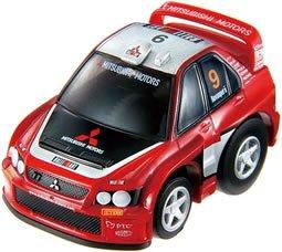 超リアルサーキットチョロQ シリーズ12 ランサーWRC05 #9(レッド×ブラック×シルバー)