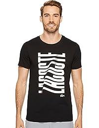 Men's Tennis Short Sleeve Vertical Graphic T-Shirt