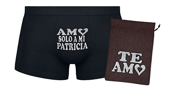 Set de regalo - Amo solo a mi Patricia - Regalo original ...