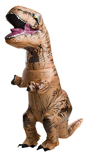 Halloween Costume Ideas For 4 Adults (Rubie's Adult Official Jurassic World Inflatable Dinosaur Costume, T-Rex,)