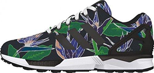 adidas Zx Flux, Zapatillas Altas para Hombre - cblack/cblack/ftwwht