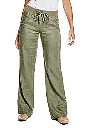 GUESS Factory Women's Blaire Linen Pants