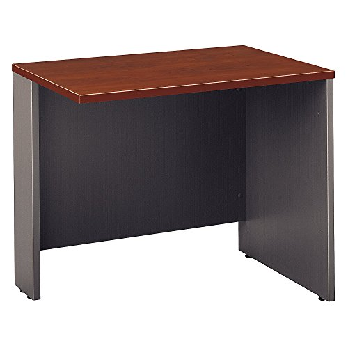 Bush Business Furniture Series C Collection 36W Return Bridge in Hansen Cherry - Hansen Cherry Corner Connector