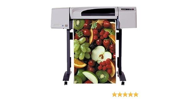HP Designjet 500 42-in Roll Printer - Impresora de gran formato (1067 mm, 17 x 17 x 5 x 5 mm, 5 mm, 4 (1 each black, cyan, magenta, yellow), 45,7m, 189,74 cm (74.7