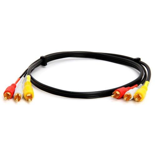 Arista Cable Audio Cable - Arista - Video / audio cable - composite video / audio - RCA (M) - RCA (M) - 3 ft