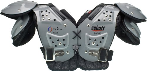 Schutt Youth Flex All Purpose Youth Shoulder Pad (Large)